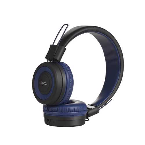 HOCO - W16 BLUETOOTH WiFi HEADPHONES BLUE