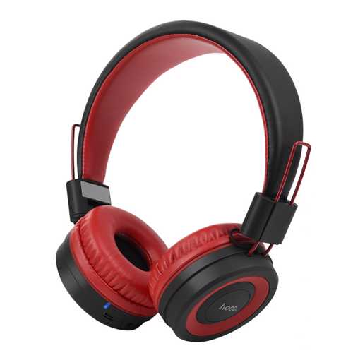 HOCO - W16 BLUETOOTH WiFi HEADPHONES RED