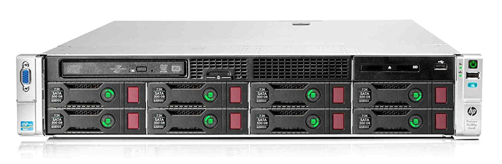 HP Server ProLiant DL380p Gen8, 2x E5-2620, 16GB, DVD, 8x 2.5, REF SQ SRV-133