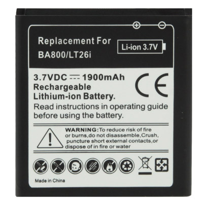 Μπαταρία For SONY  Xperia V LT25,S,Arc HD (BA-800)