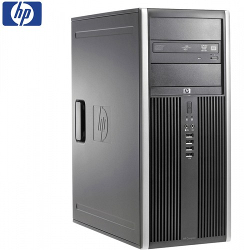SET G2 HP 8000 ELITE CMT C2D-E8XXX/4GB/160GB/DVD/WIN7PC REFURBISHED