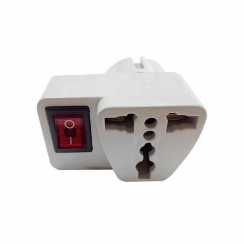 Universal travel adapter με διακόπτη