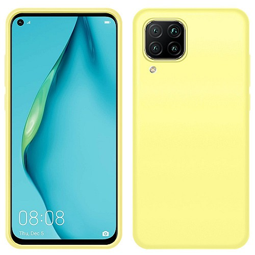 My Colors Original Liquid Silicon For HUAWEI P40 Lite Yellow