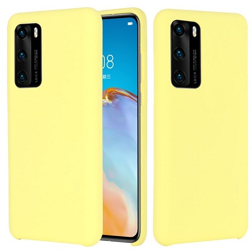 My Colors Original Liquid Silicon For HUAWEI P40 Pro Yellow