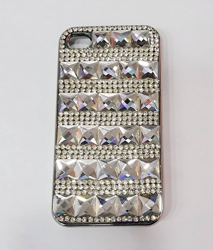 Moshi iGlaze 4 Slim Hardshell Case Diamonds for iPhone 3 / 4
